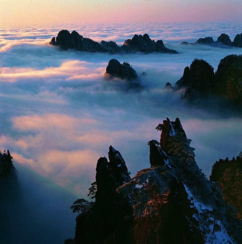 春节黄山摄影团