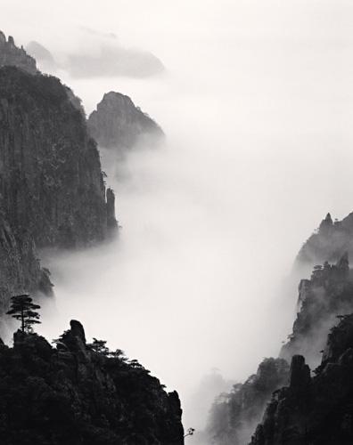 Michael Kenna黑白黄山摄影作品