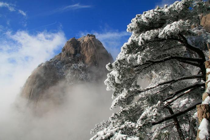 黄山冬雪摄影团