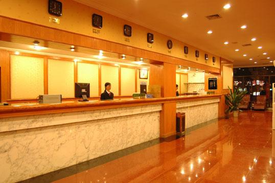 黄山太平国际大酒店大堂
