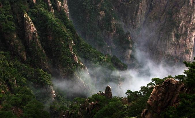 黄山摄影天气规律