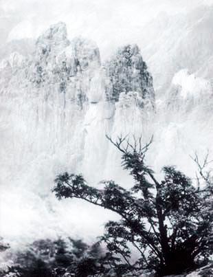 郎静山黄山摄影作品