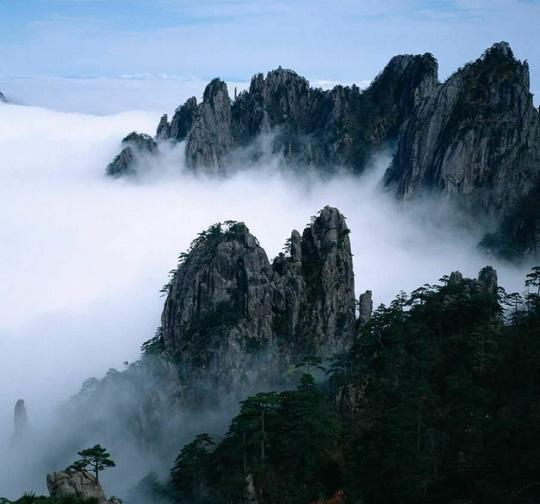 汪根华黄山摄影作品