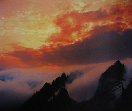 陆开蒂黄山摄影作品