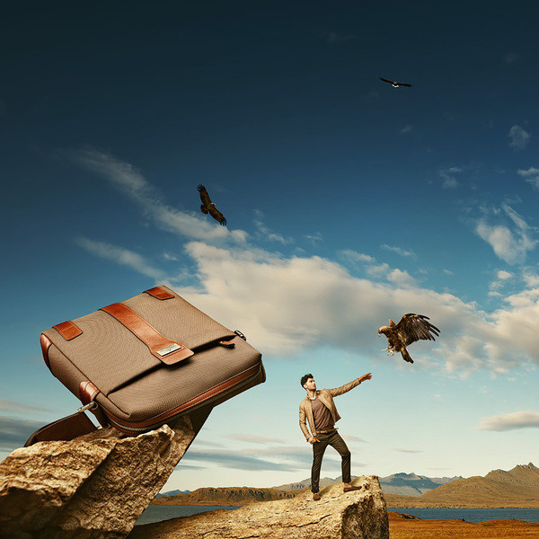 marconi创意的箱包广告摄影
