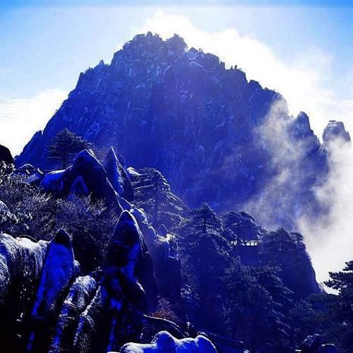 邓根宝黄山摄影作品-黄山影像网