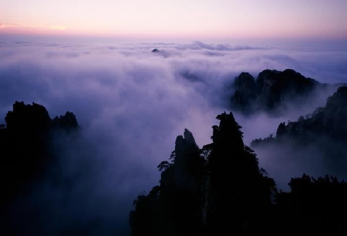 陈凤清黄山摄影作品