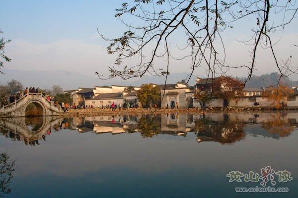中国画里乡村—宏村