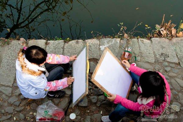 宏村南湖小景