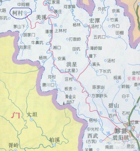 盘山风景区景区地图