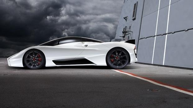 速度超快的碳纤维跑车:ssc ultimate aero ii