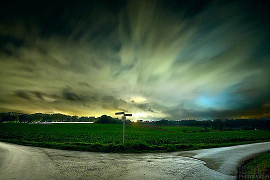 长时间曝光的风光摄影作品