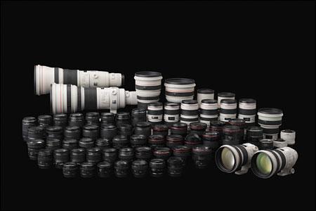 黄山摄影常用的镜头