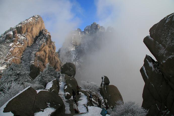 冬季黄山摄影攻略