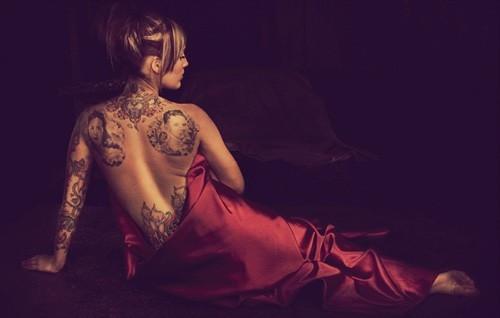 惊叹刺青纹身艺术的高超