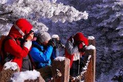 冬季黄山摄影