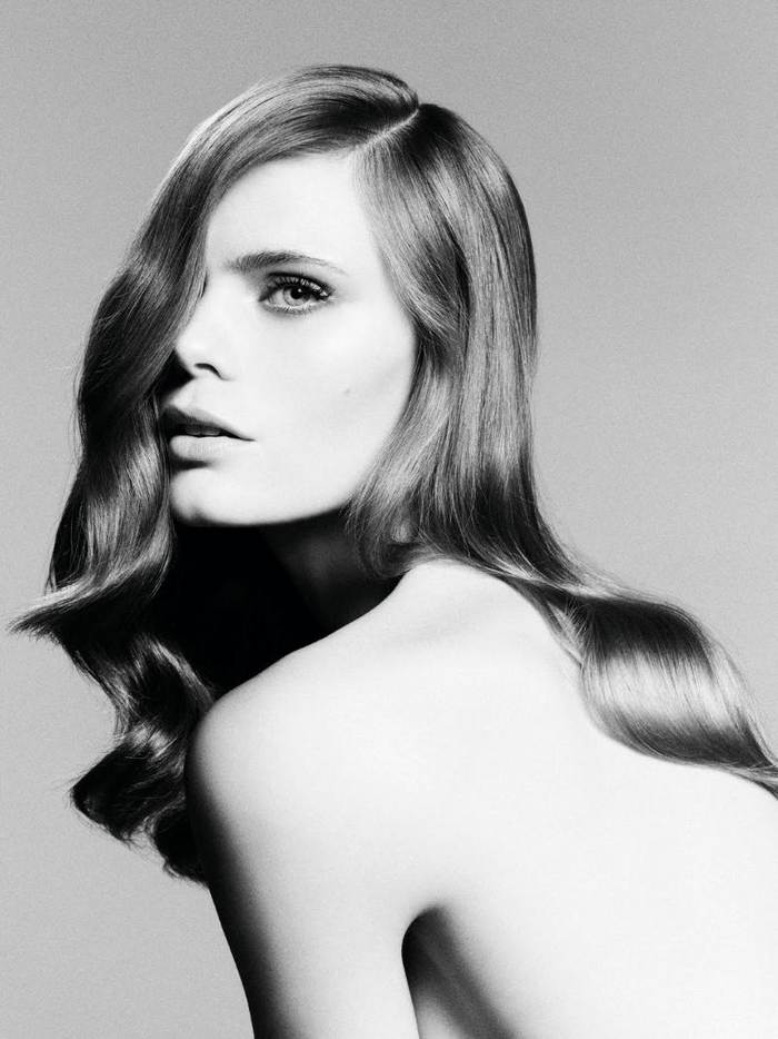 mikas koivisto的经典时尚发型:beauty gallery(黑白摄影)
