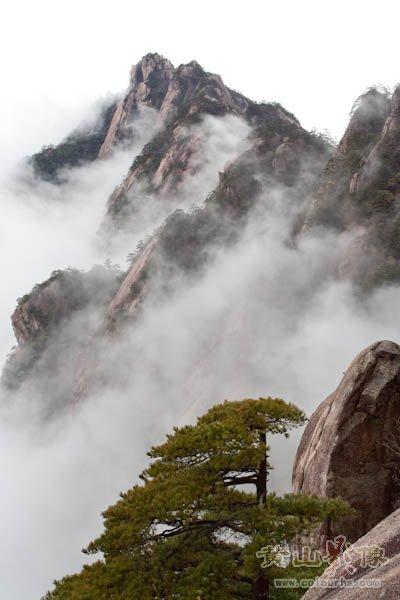 黄山旅游摄影—黄山玉屏楼前观南海.jpg