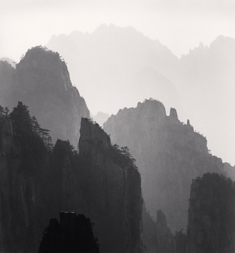 英国摄影师michael kenna黑白黄山摄影作品(图)(2)