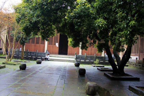 安徽呈坎村介绍 呈坎古镇旅游攻略-长达400余年的桂花树.jpg