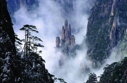 黄山西海大峡谷
