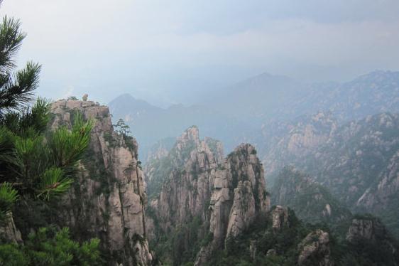 黄山的风景作文