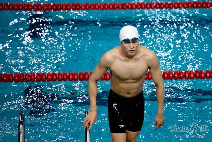 400米自由泳 孙杨黄山轻松夺冠