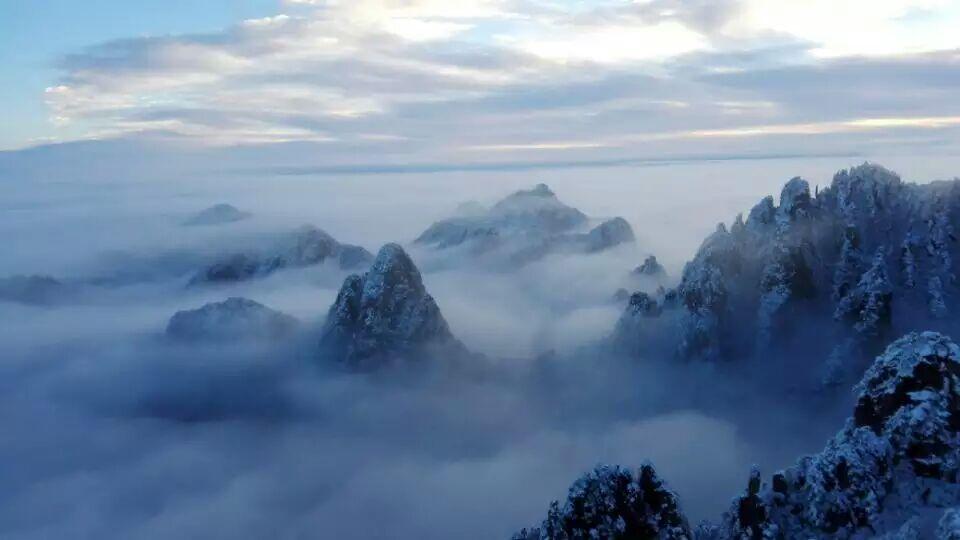 根据黄山景区天气预报